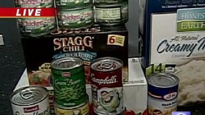 Company Uses Twitter To Benefit Food Drive