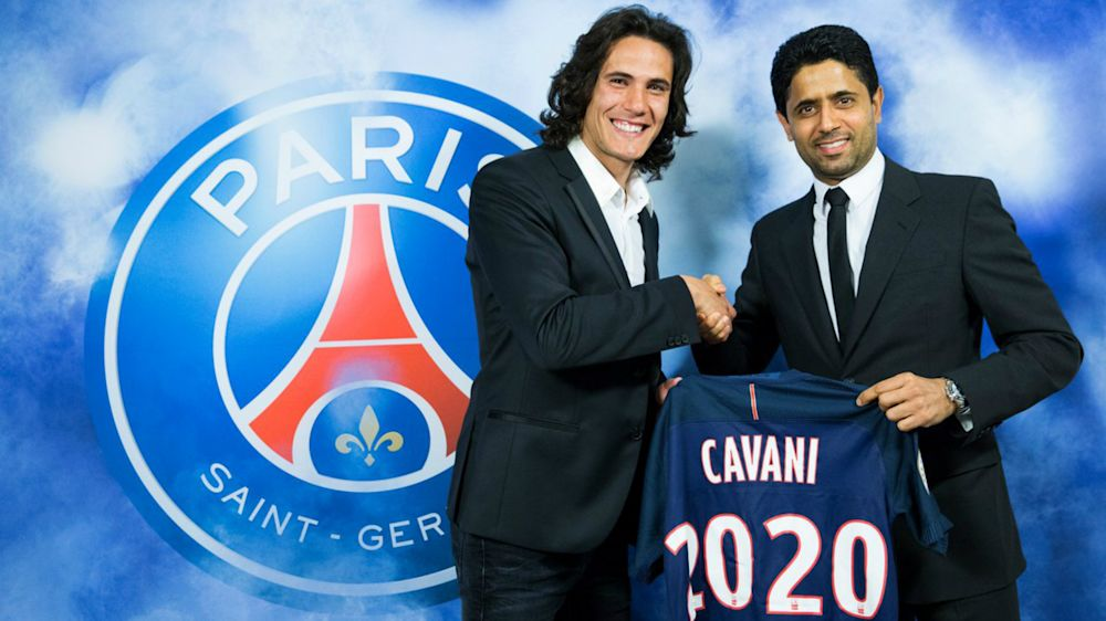 Cavani renueva con el PSG hasta 2020