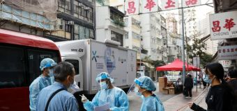 HK locks down thousands for COVID-19 testing