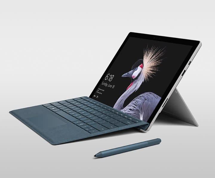 Microsoft Pro's updated stylus.