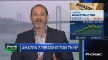 Amazon is spreading itself thin and getting into the 'danger zone,' analyst says
