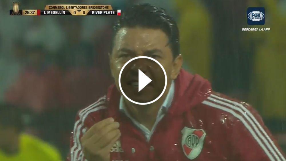 """VIDEO: """"¿Hasta cuándo van a seguir?"""", se quejó Gallardo"""