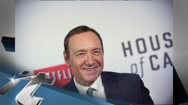 Awards and Events News Pop: 2013 Emmy Drama Acting Nominees: House of Cards's Kevin Spacey and Scandal's Kerry Washington Rock the TV Vote!