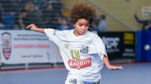 Novo raio: Santos tem atleta mais jovem a assinar com a Nike