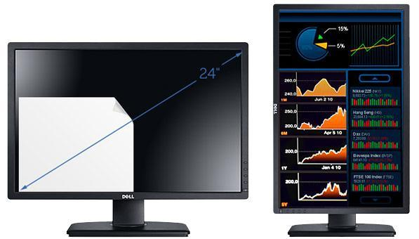 Dell UltraSharp U2412M display features 1920 x 1200-pixel resolution and IPS, doesn't cost $999