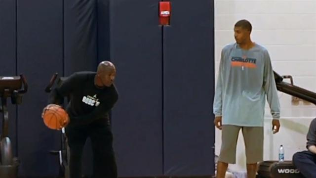 Michael Jordan laces up, shows Bobcats how its done