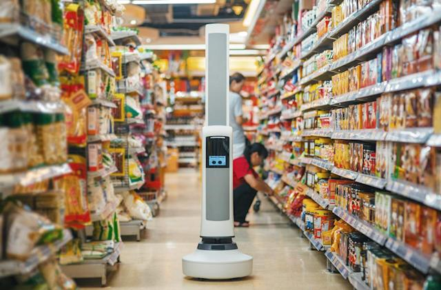 Robot watches store shelves so you don't leave empty-handed