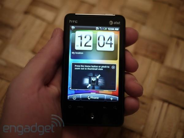 HTC Aria for AT&T hands-on