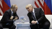 Smiles and small talk as Trump and Putin (finally) meet