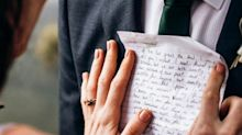 Woman pens letter describing her future spouse three years before she meets him