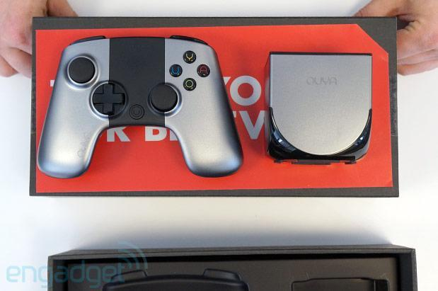 Unboxing the OUYA (video)