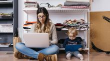 From ironing boards to dustbins: wackiest working-from-home 'desks'