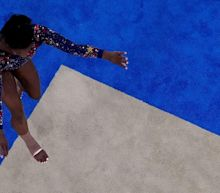 Simone Biles shines again but sees room for improvement from United States