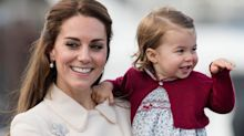 Kate Middleton spotted out with Prince Louis