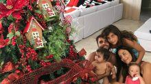 Zoe de mamãe Noel, Natal na neve; veja como foi a comemoração dos famosos