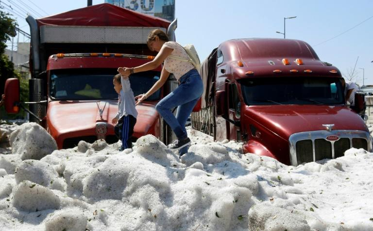 Mexican City Covered In 3-Feet Of Hail After Freak Summer Storm