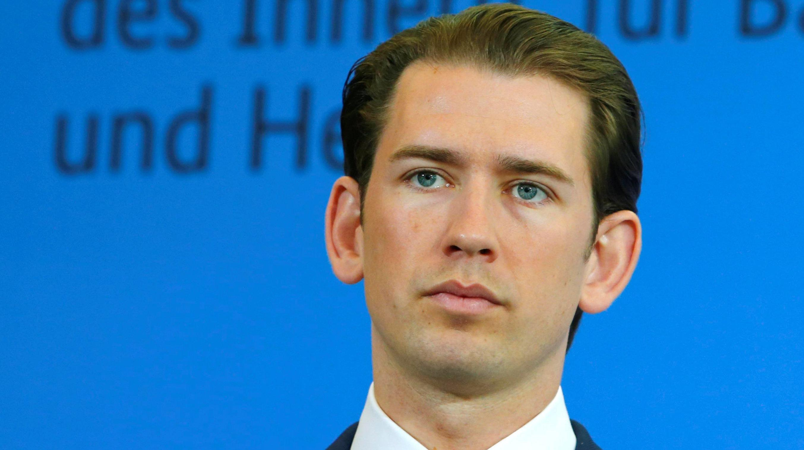 Austria's Leader Wants An 'Axis' With Germany And Italy Against Migration