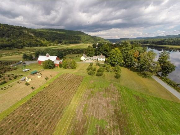 <p>The Christmas tree farm is on the Connecticut River in Vermont. Thousands of families come from all around New England each year to cut down their trees.</p>