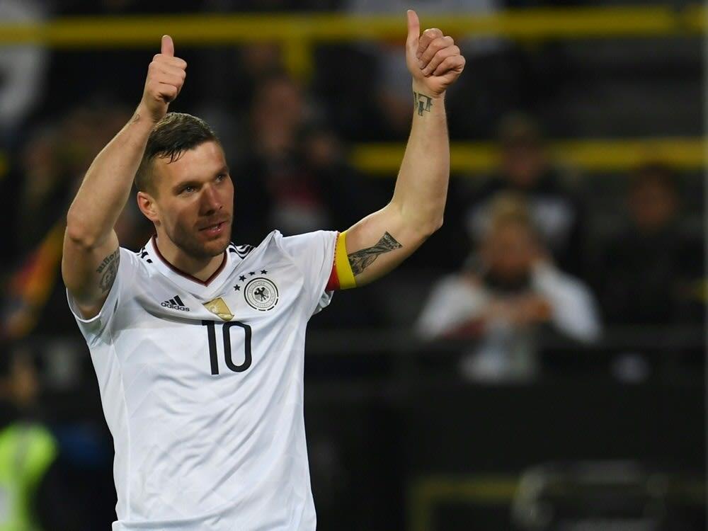 Podolski bei Botschafter-Wahl in Spieler-Wertung vorn