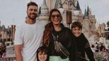 """Juliana Paes curte férias na Disney: """"Felicidade é família"""""""