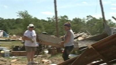 Veterans Spend Memorial Day Helping Storm Victims