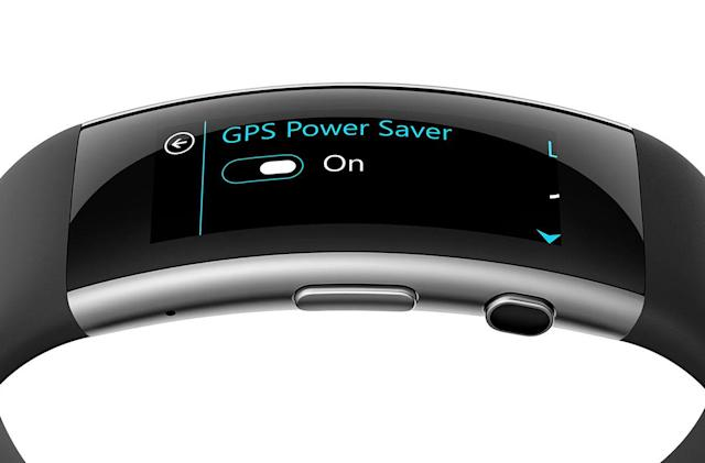 Microsoft Band 2 gets better battery life with new GPS mode