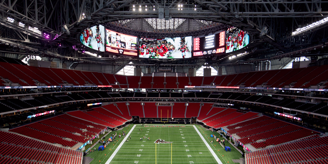 The Falcons new stadium reportedly has a fast food chain that will be impossible for Sunday football fans to enjoy — Chick-fil-A