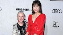 Dakota Johnson Says Grandmother Tippi Hedren, 90, Still Lives with Lions and Tigers