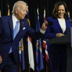 Joe Biden, Kamala Harris make first joint appearance as Democratic presidential ticket