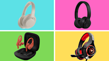 Headphones are massively on sale for the holiday—prices start at just $18