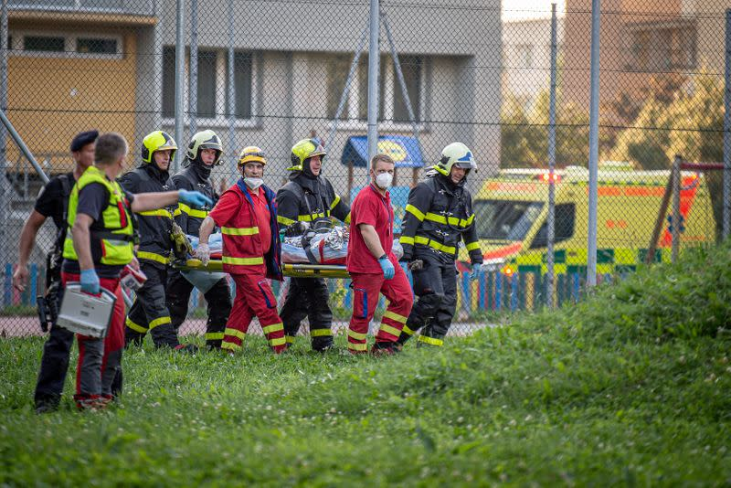 Eleven dead in Czech building fire