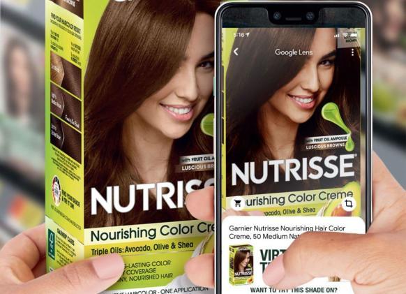 Google Lens now lets you virtually dye your hair