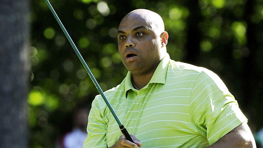 Wild swing: 'The Match 3' features Barkley