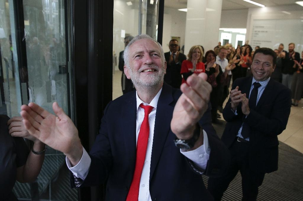 Britain's opposition Labour party leader Jeremy Corbyn said Prime Minister Theresa May had lost people's confidence (AFP Photo/Daniel LEAL-OLIVAS)