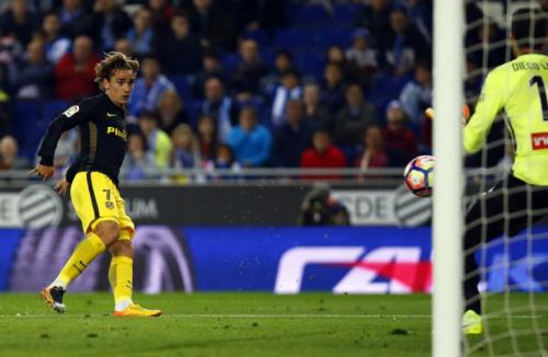 Griezmann marca e garante vitória do Atlético sobre o Espanhol