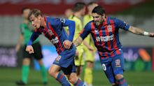 Newcastle Jets 3-0 Wellington Phoenix: Top-two hopes over for Talay's men