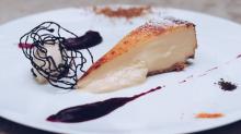Así es la tarta de queso que ha conquistado Madrid