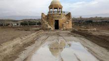 De-miners sound all-clear at marooned Jordan River baptism shrines