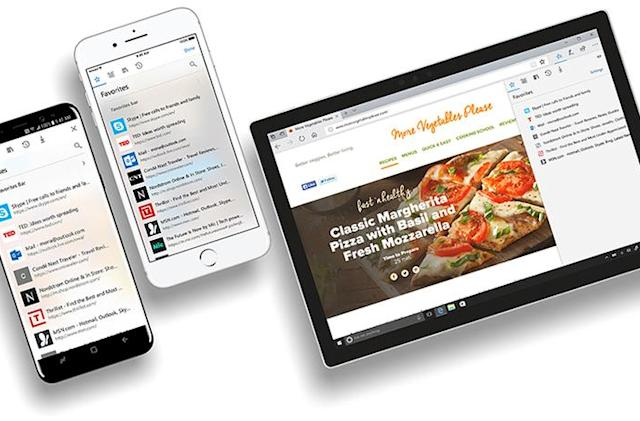 Microsoft's Edge browser comes to iOS and Android for beta testing