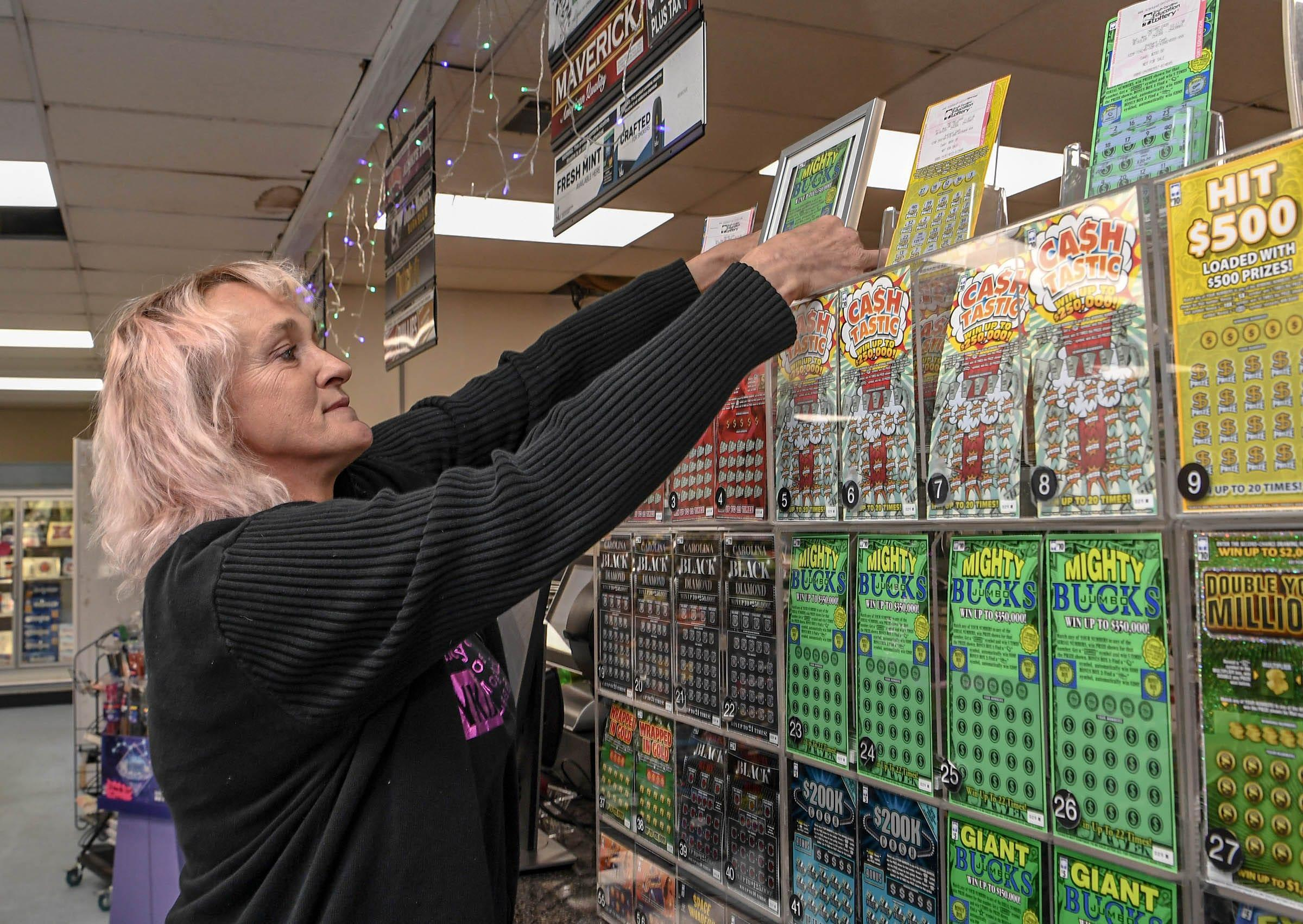 Store uses $350K lottery ticket for community meal