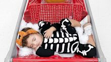 This Photo Series of a Toddler Sleeping in Target Carts Is the CUTEST Thing You'll See All Day