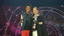 "Lim Wen Suen is the first champion of SG-MY ""The Voice"""