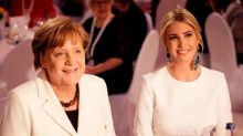 Ivanka Trump Wore $740 Mismatched Statement Earrings to a Gala in Germany