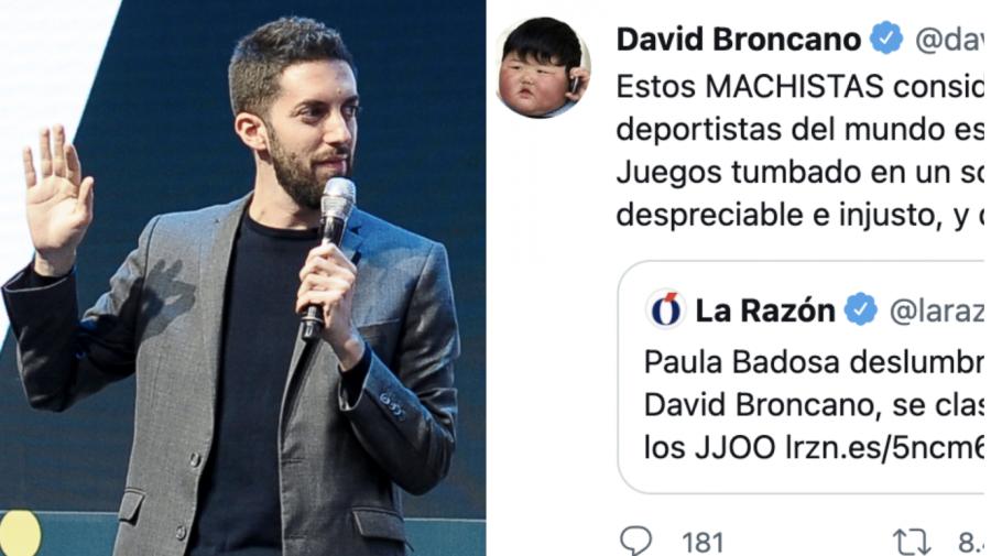 David Broncano afea a 'La Razón' una práctica machista muy extendida en los Juegos Olímpicos