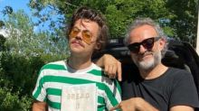 Harry Styles Debuts New Look With Moustache And Netizens Can't Keep Calm