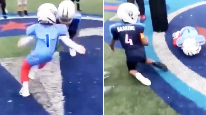 'Child abuse': Outrage over disturbing youth football video