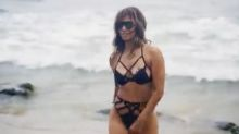 Halle Berry, 54, dons cut-out bikini to share message that age is not a barrier to fitness