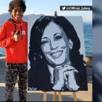 San Jose teen creates portrait of VP-elect Kamala Harris