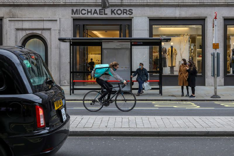 UK shopper numbers plunge as English lockdown makes impact
