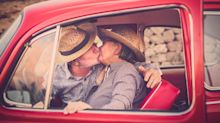 Brits should stop kissing with tongues at age 57, study reveals